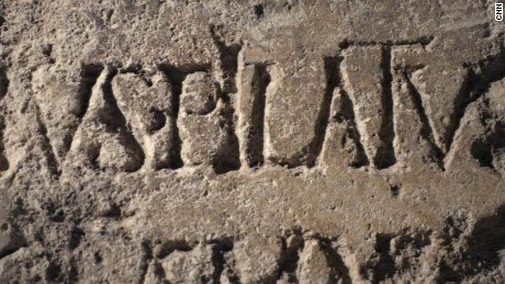 The stone that proves Pilate's existence