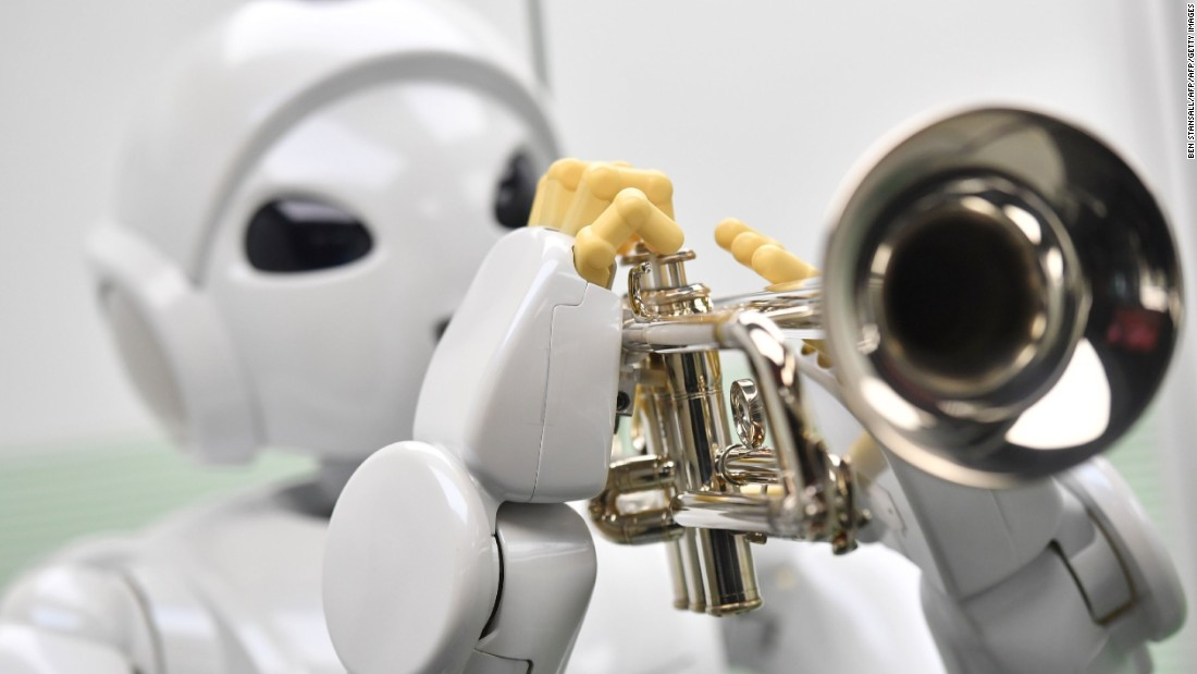 The weird and wonderful world of Japanese robots
