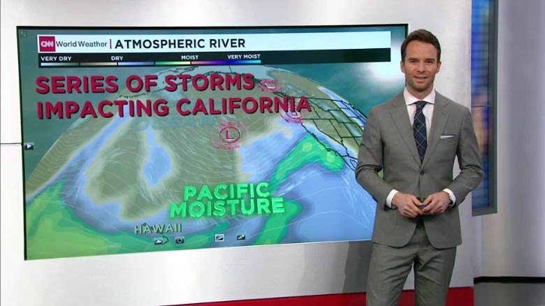 Winter storm bringing rain and snow to California