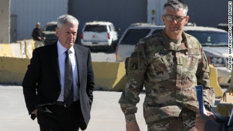 Defense Secretary Mattis arrives in Iraq