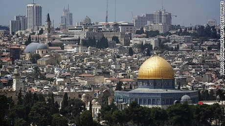 White House is expected to announce US recognition of Jerusalem as soon as Tuesday