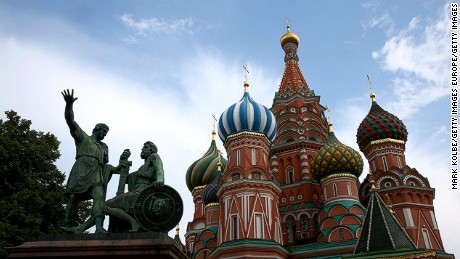 MOSCOW, RUSSIA - AUGUST 06:  A general view is seen of St Basil's Cathedral in Red Square ahead of the IAAF World Championships on August 6, 2013 in Moscow, Russia.  (Photo by Mark Kolbe/Getty Images)