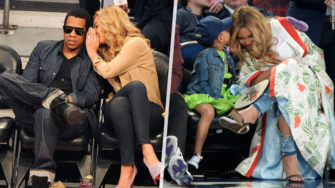 Blue Ivy channels Beyoncé at NBA All-Star Game