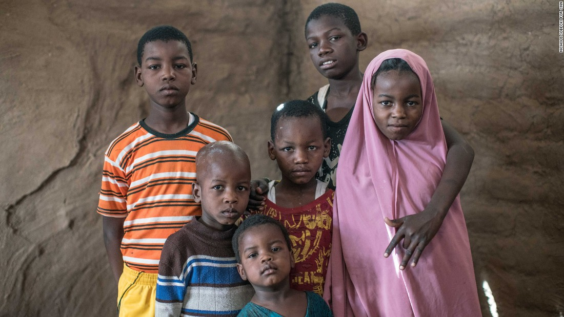 "These six children -- <strong>Mohamed Ahmed Manengera, Abubakar Ahmed Manengera, Marwo Ahmed Manengera, Ali Ahmed Manengera, Yussuf Ahmed Manengera</strong>, and <strong>Nimo Ahmed Manengera</strong>, from left to right -- had been approved to move to Colorado with their parents before the travel ban.  Instead, they remained at Kakuma, which is home to some 160,000 refugees. ""Life is about survival here,"" said their mother, Mano Abukar Abdullahi, who has been trying to resettle to the US since 2013. ""I want my children to get a better life than what we have at the camp."""