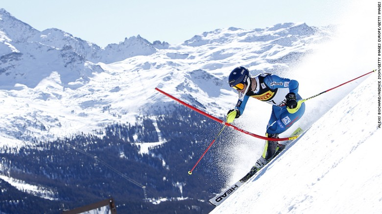 ST. MORITZ, SWITZERLAND - FEBRUARY 19: Jonathan Nordbotten of Norway in action during the FIS Alpine Ski World Championships Men's Slalom on February 19, 2017 in St. Moritz, Switzerland (Photo by Alexis Boichard/Agence Zoom/Getty Images)