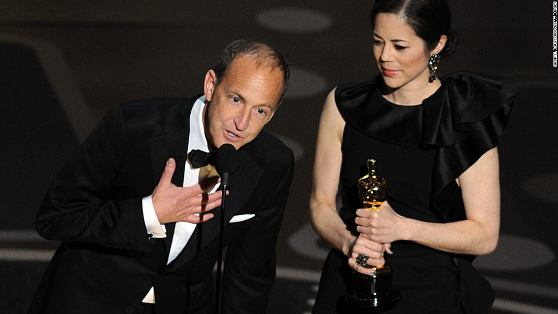 """I must start by pointing out that three years after a horrific financial crisis caused by massive fraud not a single financial executive has gone to jail, and that's wrong...."" -- Charles Ferguson, accepting the best documentary feature award for his work on ""Inside Job"" at the 83rd Academy Awards on February 27, 2011 at the Kodak theater"