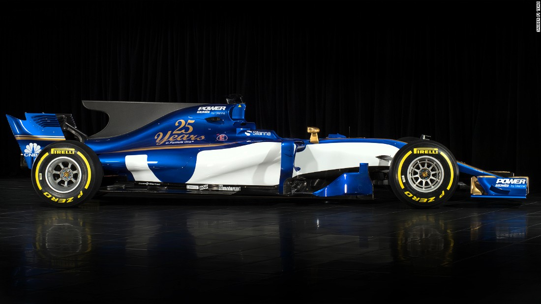 New design regulations set out by motorsport's governing body, the FIA, means the  2017 cars will have fatter tires and wider wings at both the front and rear.