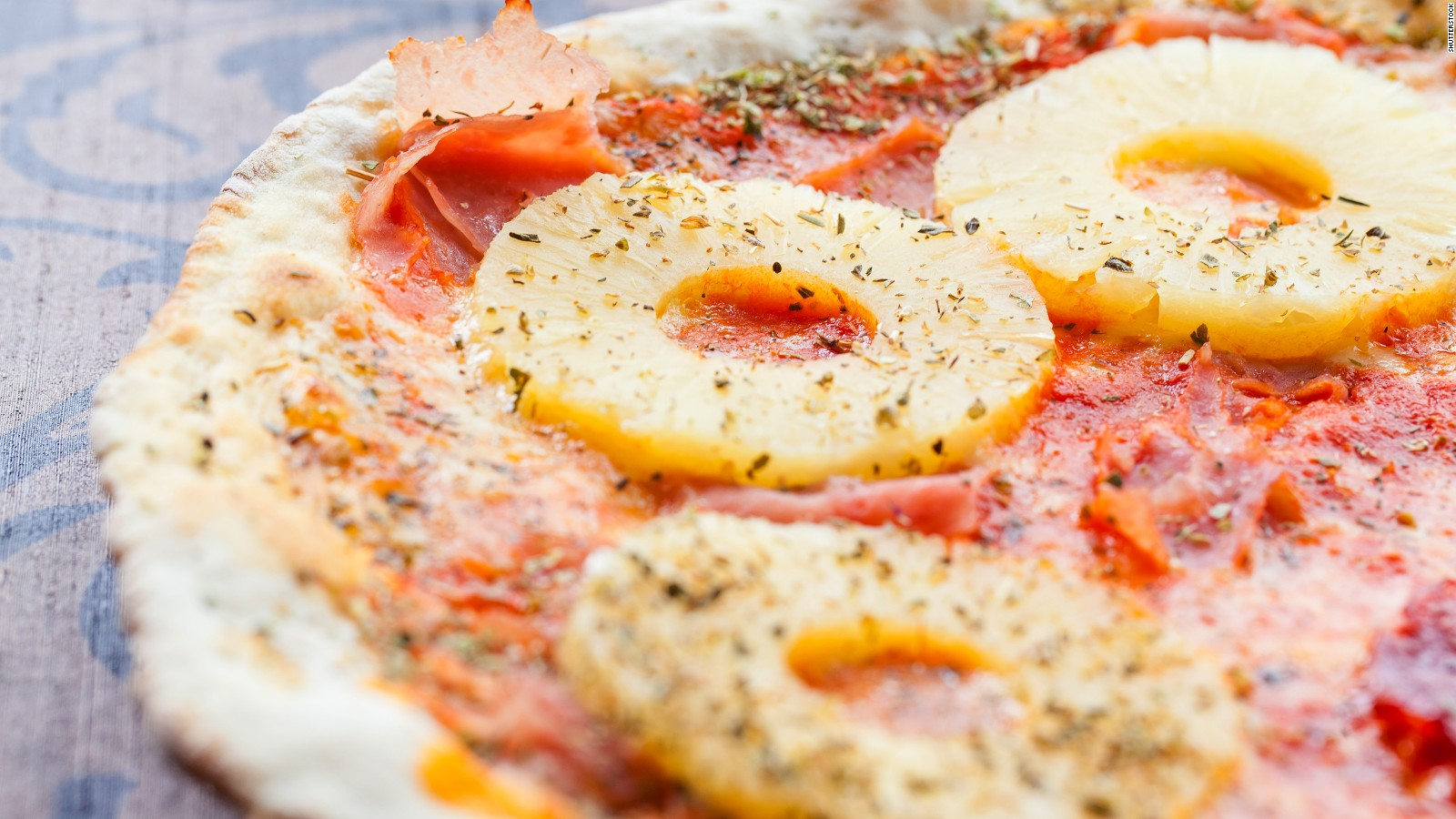 iceland u0027s president would ban pineapple pizza cnn travel