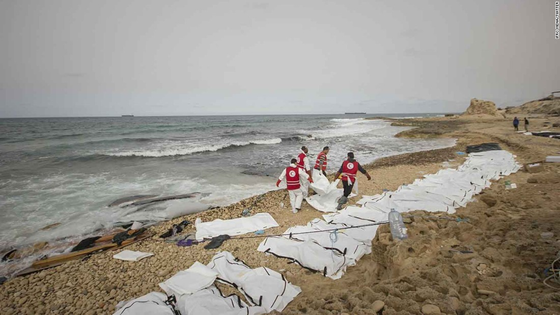 Bodies of more than 70 migrants wash up on Libya's coast