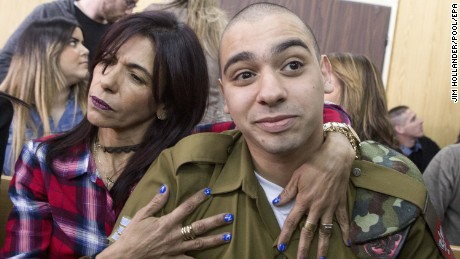 Israeli soldier's 'lenient' sentence criticized by UN Commissioner