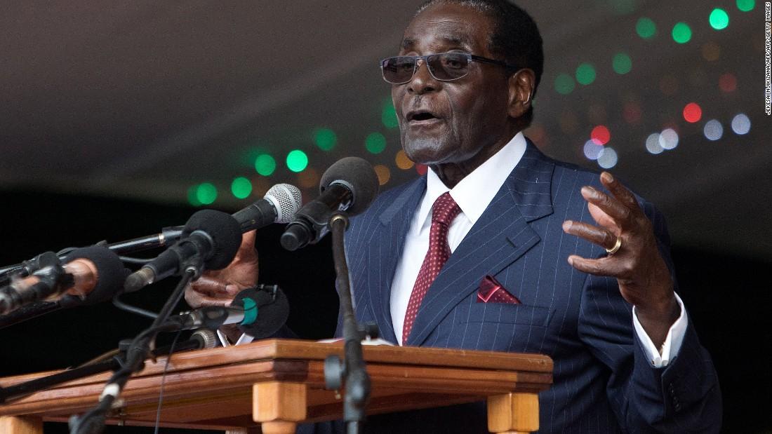 Zimbabwe's Mugabe turns 93; lauds Trump's nationalist stance