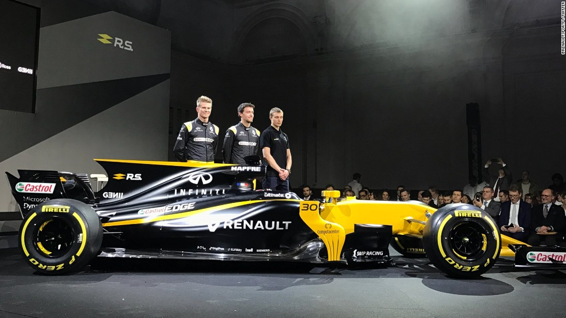 Germany's Nico Hulkenberg has joined from Force India, while British driver Jolyon Palmer has retained Renault's other race seat. Russia's Sergey Sirotkin is promoted to reserve driver, while four-time world champion Alain Prost will be a special advisor to the team.