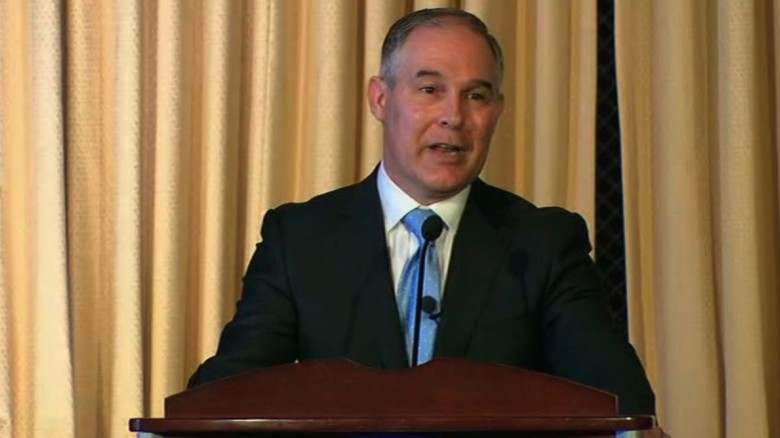 Scott Pruitt tries to soothe worries at EPA