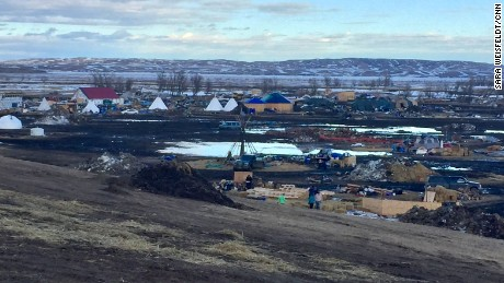 The Standing Rock Sioux Tribe has repeatedly asked protesters to leave.