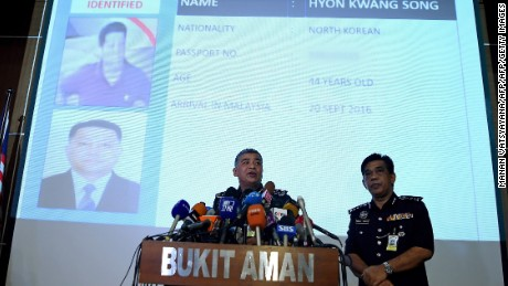 Authorities describe Kim Jong Nam's death