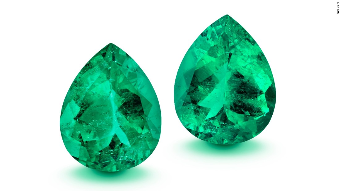 Emeralds found in shipwreck to fetch millions