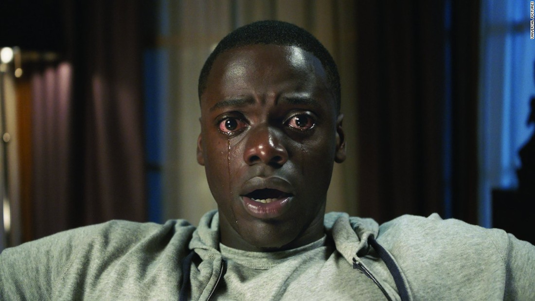 'Get Out' received two nominations. Star Daniel Kaluuya is nominated for outstanding performance by a leading actor in a film.