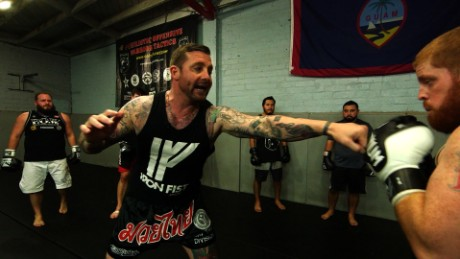 Army veteran starts 'fight club' to help others with PTSD