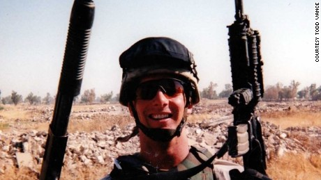 Todd Vance joined the Army his junior year of high school and served as a squad leader in Iraq.