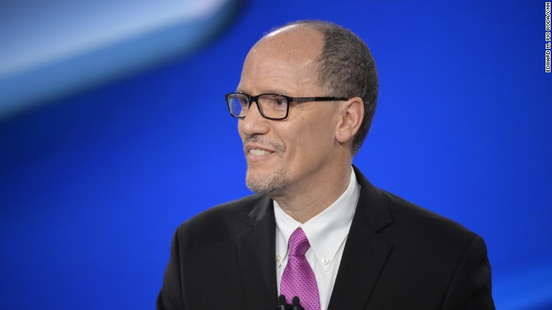 DNC Chair Tom Perez: Trump is a 'fraud'