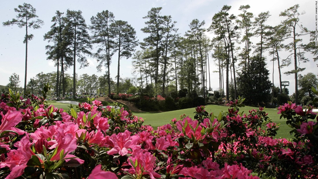 "Even if the azaleas have gone beyond by the time the Masters starts, the course will still be in immaculate condition. English golfer Ian Poulter once said of Augusta: ""It's like being in the most perfect picture that has ever been painted."""