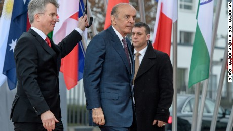 Brazilian Foreign Minister Jose Serra, arriving at the World Conference Center on February 16 in Bonn, Germany. He has since announced his resignation, citing health reasons.