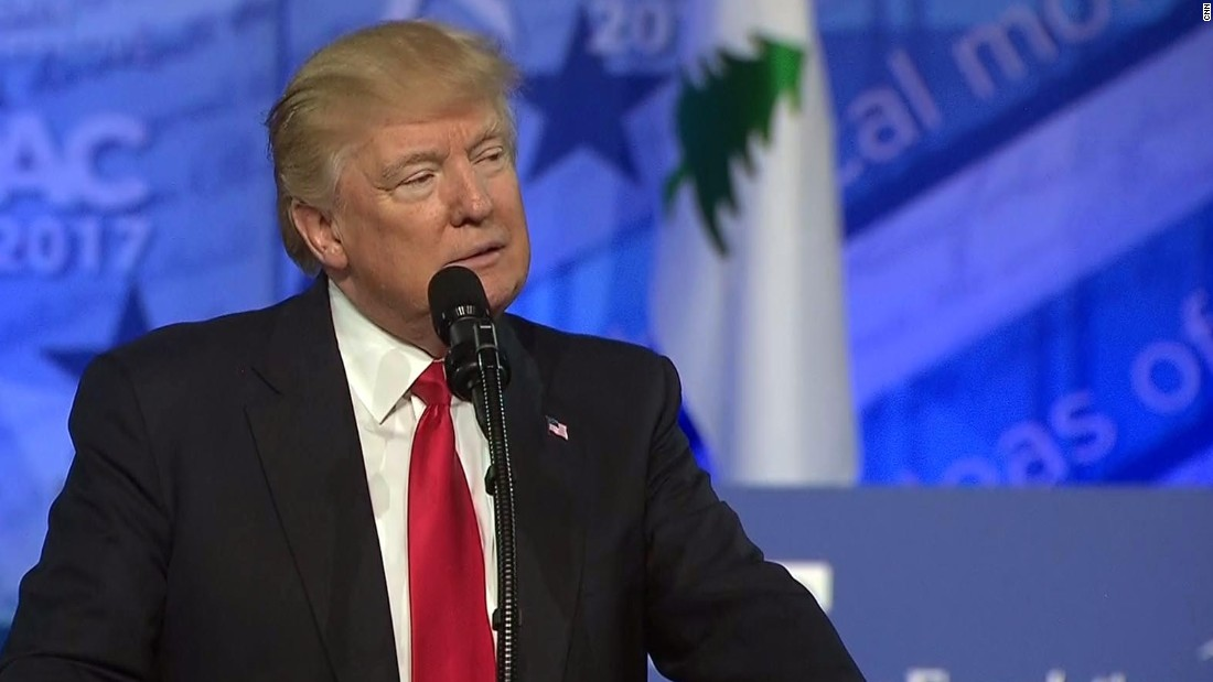 Trump takes campaign-style CPAC victory lap