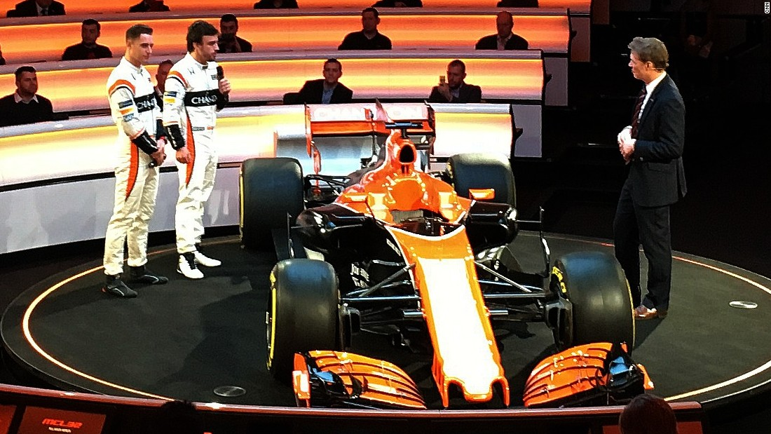 Two-time world champion Alonso will be partnered at McLaren by Belgian rookie Stoffel Vandoorne, who has replaced veteran Jenson Button.
