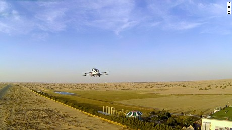 The Dubai Road and Transport Authority have begun test flights