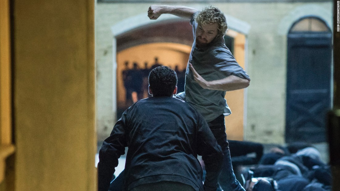 "Marvel's ""Iron Fist"" series on Netflix also caught heat for having ""Game Of Thrones"" actor Finn Jones star as a martial arts expert."