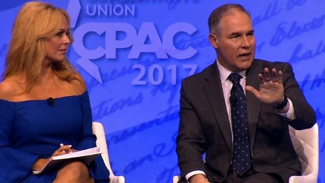 EPA administrator Scott Pruitt speaks at CPAC