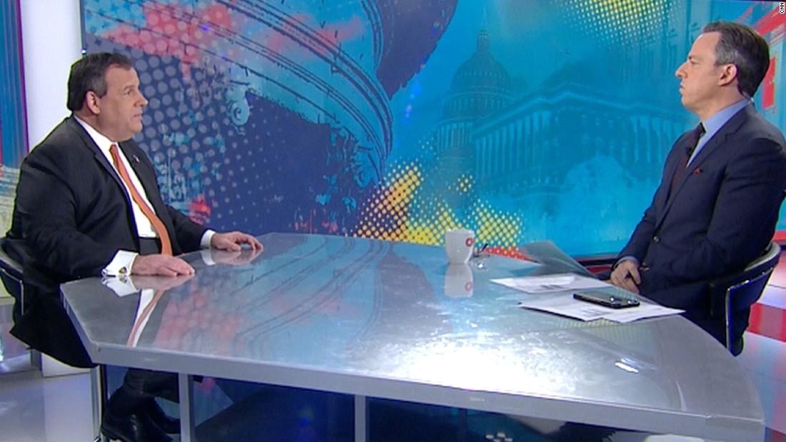 Christie on White House talking to FBI: 'perception matters'