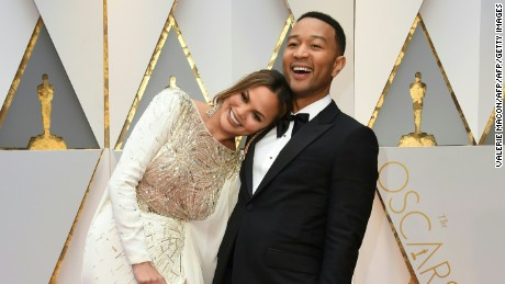 """Chrissy Teigen and John Legend announced in November that baby no. 2 is on its way. Daughter Luna was born in April 2016."