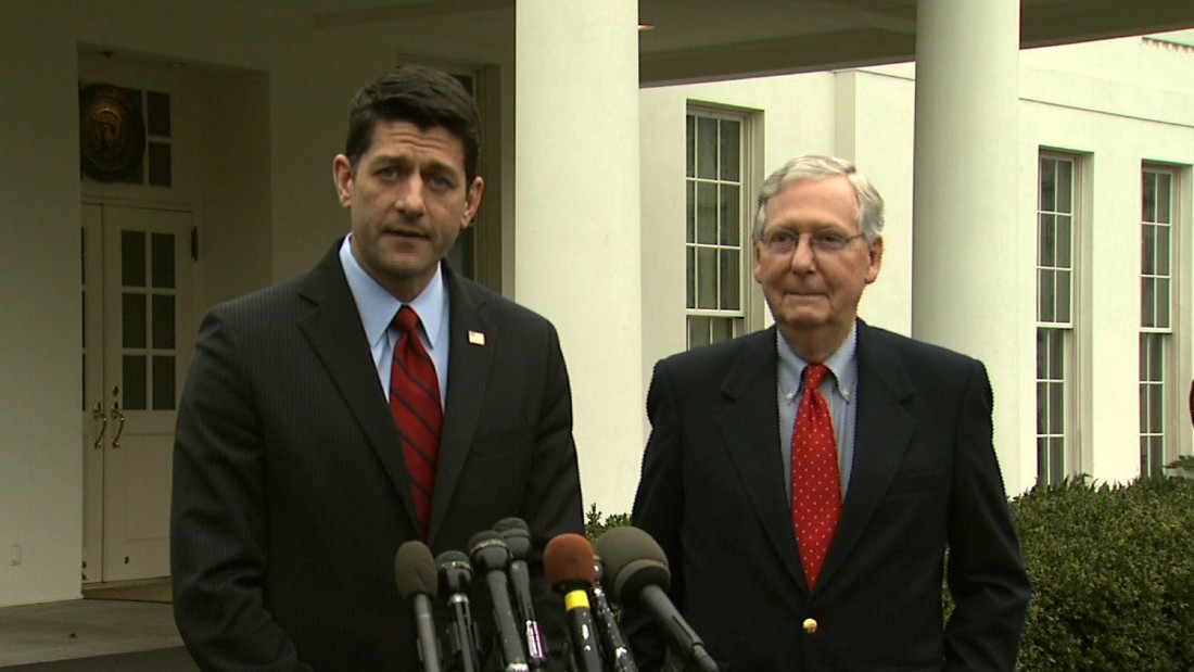 GOP returns to daunting task of dismantling Obamacare, selling its plan to Trump