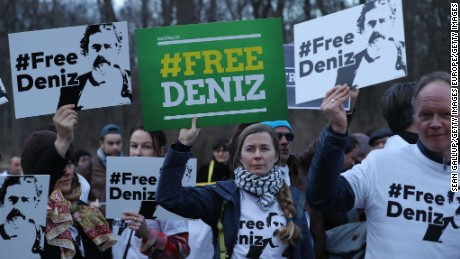 Journalist Deniz Yucel has now been held in Turkey for more than 200 days, according to German authorities.
