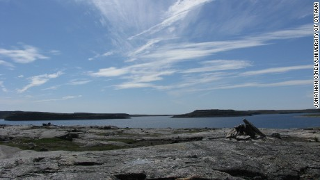 Ancient fossils have been found on the Nuvvuagittuq Supracrustal Belt in Quebec, Canada.