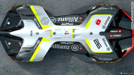 Image by Chief Design Officer Daniel Simon / Roborace