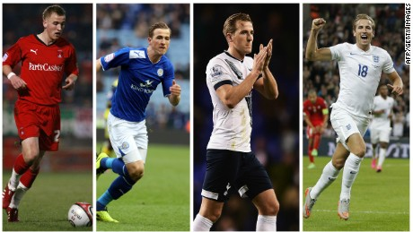 Spurs loaned Kane to four different clubs between 2011-13. He made his England debut in 2015.