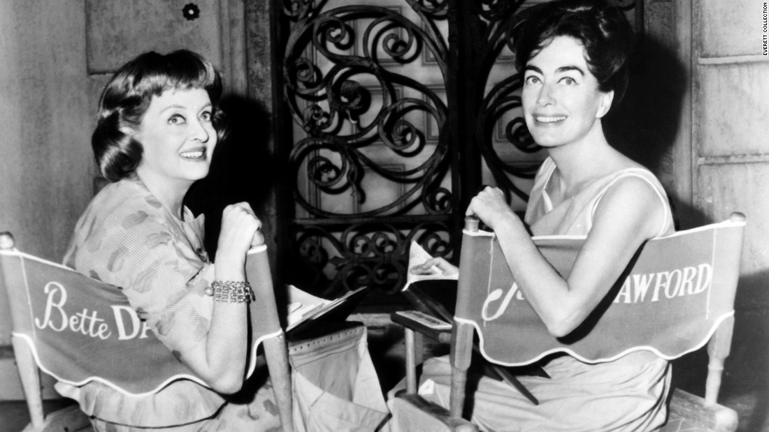 """Hollywood T.N.T."" is how The New York Times characterized the explosive teaming of Bette Davis, left, and Joan Crawford in the 1962 movie ""What Ever Happened to Baby Jane?"" Davis and Crawford were two of the biggest stars of the 1930s and '40s, but by the early '60s, roles for actresses in their 50s were scarce. Despite their dislike for each other, they leapt at the chance for meaty parts in the low-budget horror flick based on a novel by Henry Farrell."