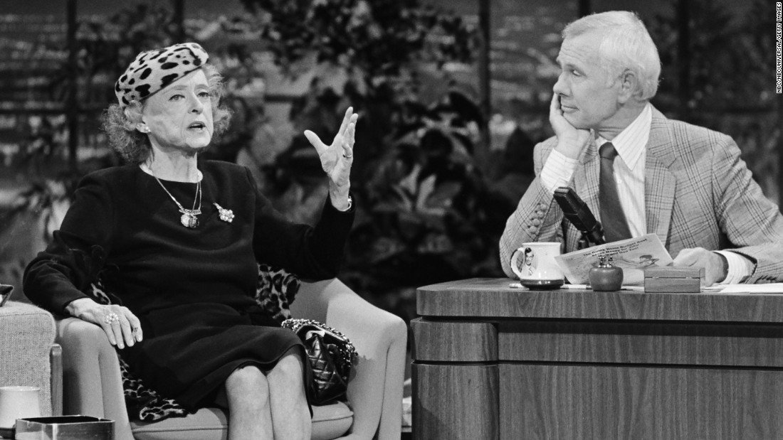 "The elderly actress was a popular fixture on TV talk shows in her later years, including ""The Tonight Show"" with Johnny Carson in 1983. She survived Crawford by more than a decade, dying of breast cancer in 1989. During the 1980s, she had a mastectomy and then suffered a stroke that left her partially paralyzed in the face. But illness didn't prevent her from acting. ""It is only work that truly satisfies,"" she said in her autobiography."