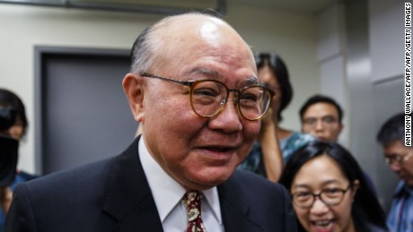 Retired judge Woo Kwok-hing was nominated by pro-democrat electors.