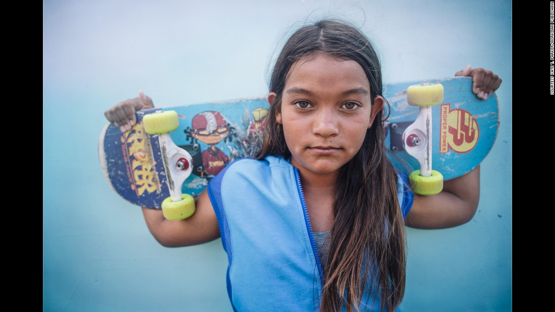 "<strong>Kekai, 12: </strong>""I love the speed when I skate. I feel very alive and present. Feeling fluid and going fast is fun."""