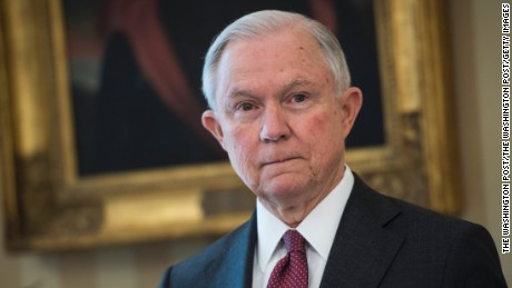 Jeff Sessions ushers in 'Trump era' at the Justice Department