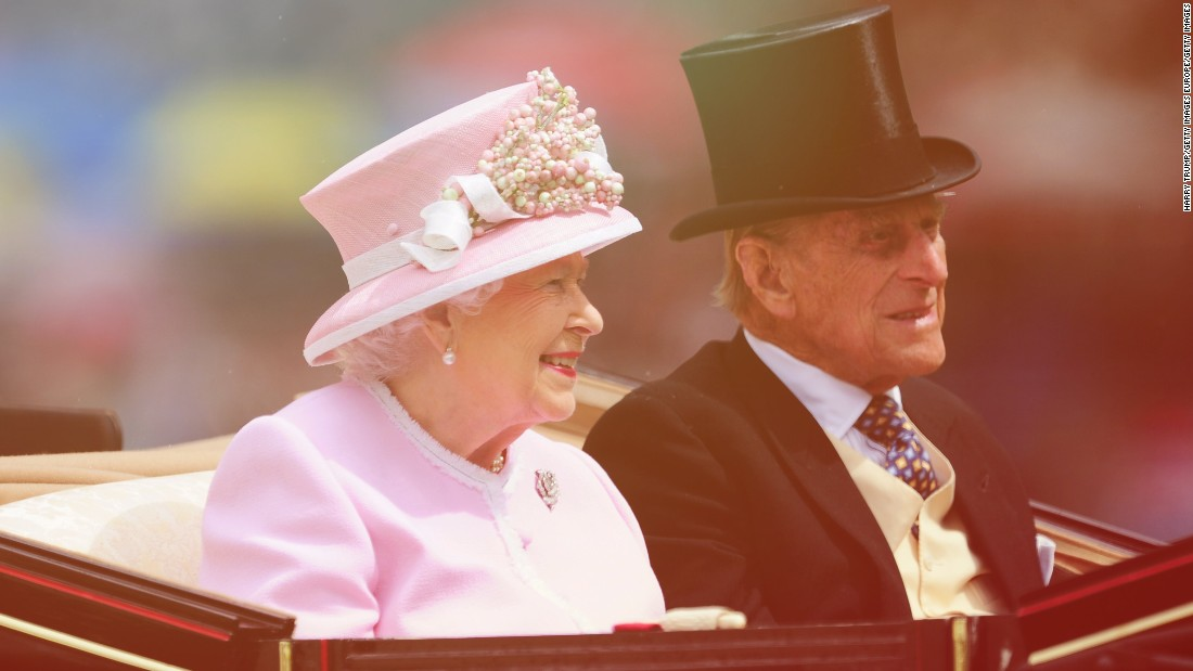 Queen Elizabeth II arrives at the Royal Procession during last year's Royal Ascot.