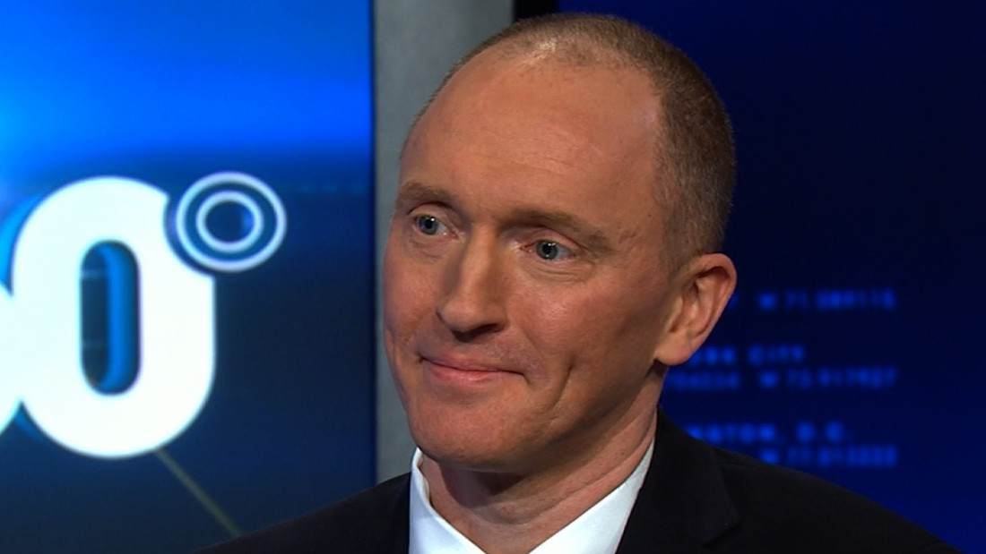 Former Trump adviser Carter Page says he didn't disclose Russian spy contacts to campaign
