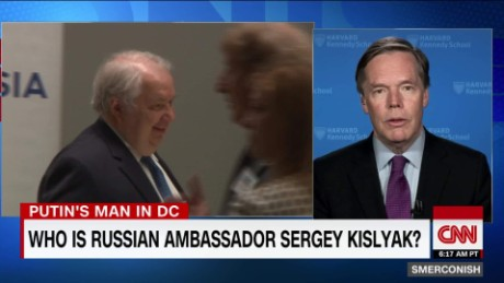 Russian Amb Kislyak 'no friend of US'