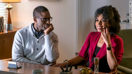 Sterling K. Brown as Randall, Susan Kelechi Watson as Beth in 'This Is Us.'