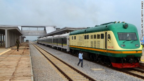 A new train line connect Abuja with Kaduna, but the capital's economy is still likely to suffer during the airport closure.
