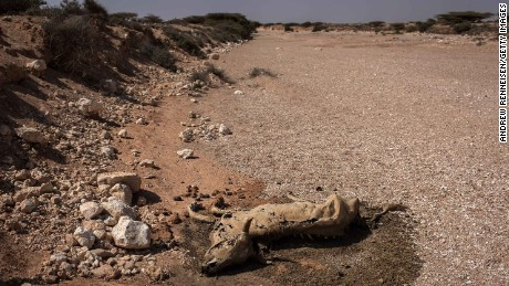 Drought is also a huge problem in Somalia.