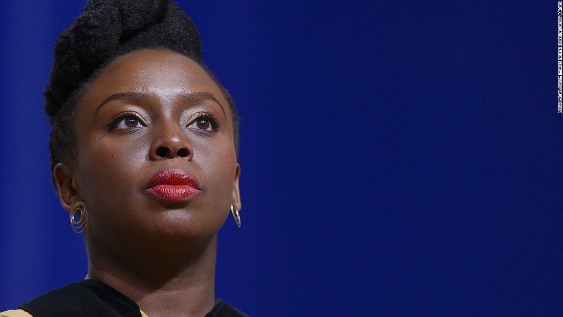 "Chimanda Ngozi Adichie is a prominent novelist, short story writer and speaker. She is well known for her TED talk and adapted short-essay, ""We Should All be Feminists."""